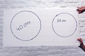Découpe de cercle